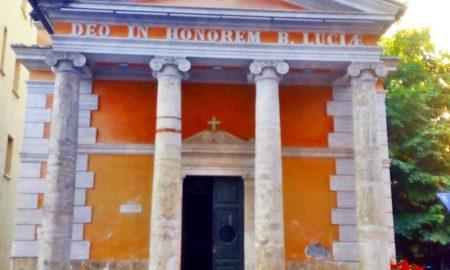 Santa Lucia a Frosinone - la chiesa di Frosinone