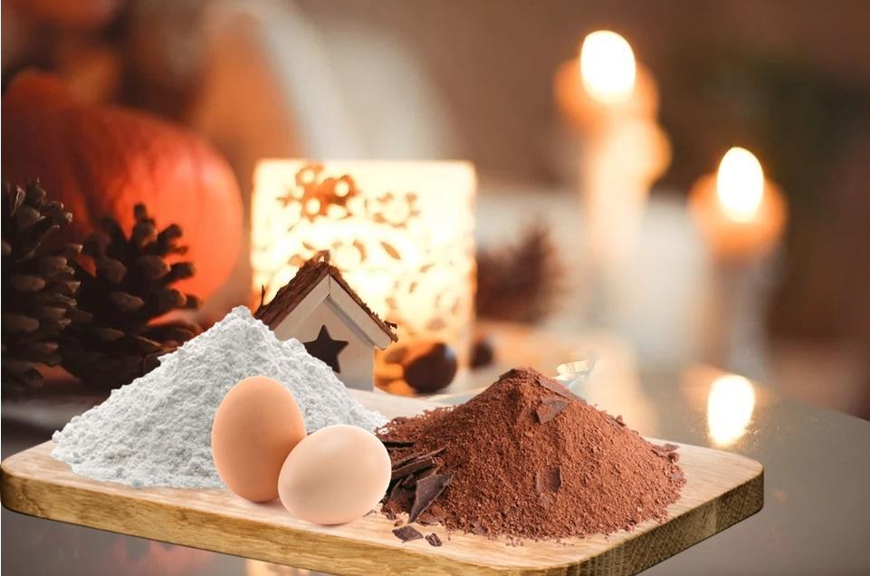 Tagliatella Al Cacao - tavola natalizia