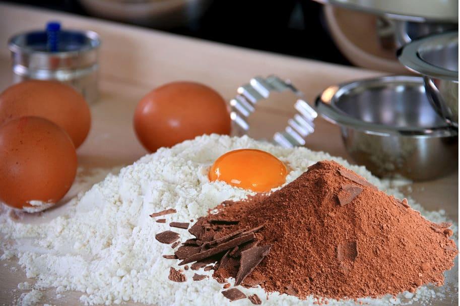 Tagliatelle Al Cacao - farina uova e cacao amaro