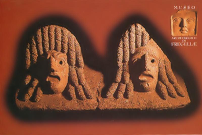 Fregellae - Icone e mascheroni
