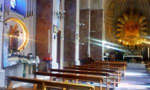 madonna della neve - foto degli interni della parrocchia