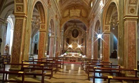 Santa Salome - Gli interni della Basilica