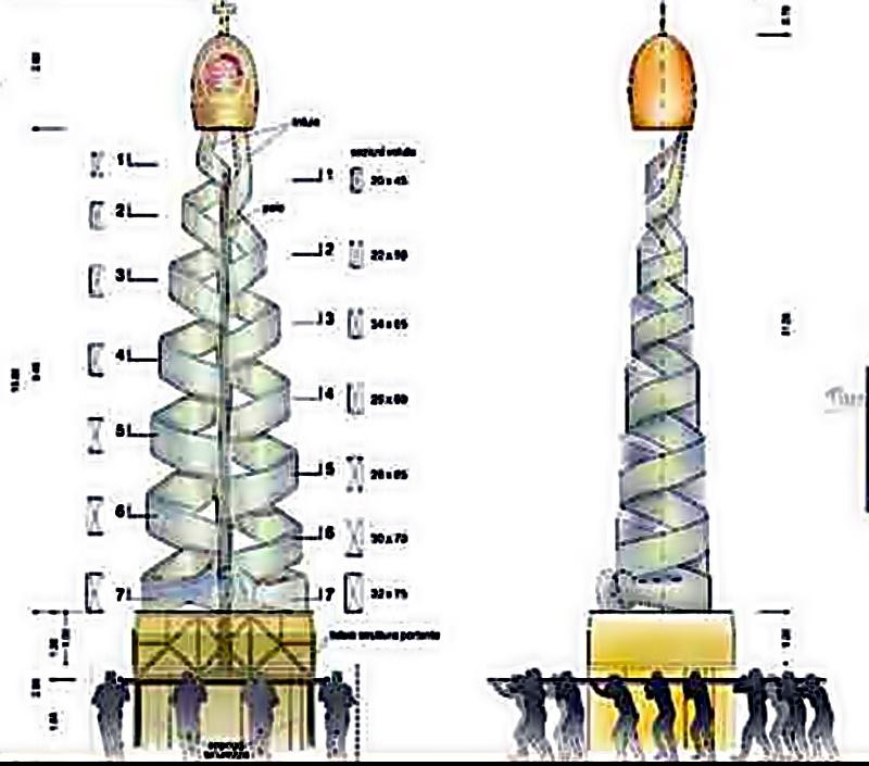La torre della pace - La Torre Della Pace Con Facchini
