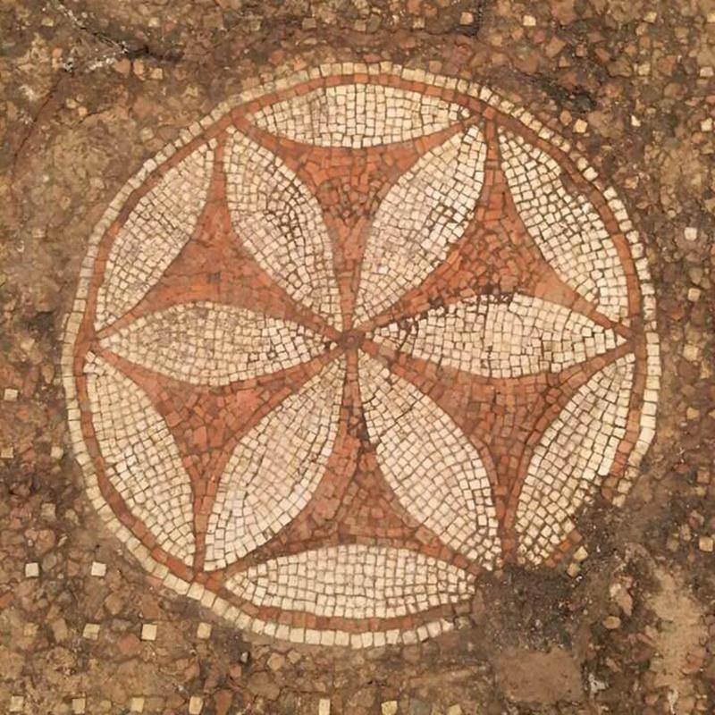 Mosaico - antico mosaico romano