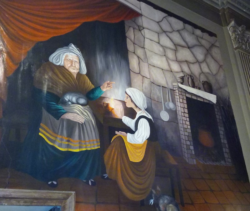 L'ostia incarnata di Alatri - Colloquio con la vecchia strega