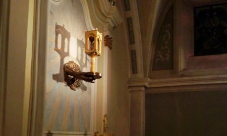 L'ostia incarnata di Alatri - immagine del reliquiario