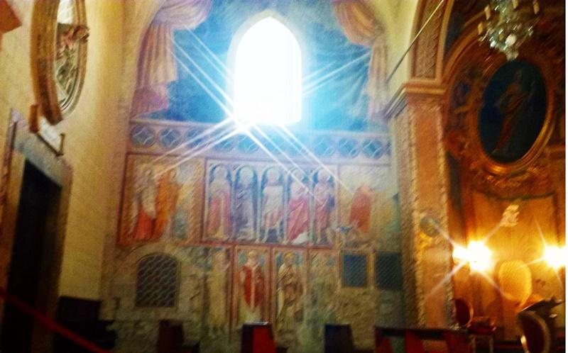 Santa Salome - la parte più antica della chiesa