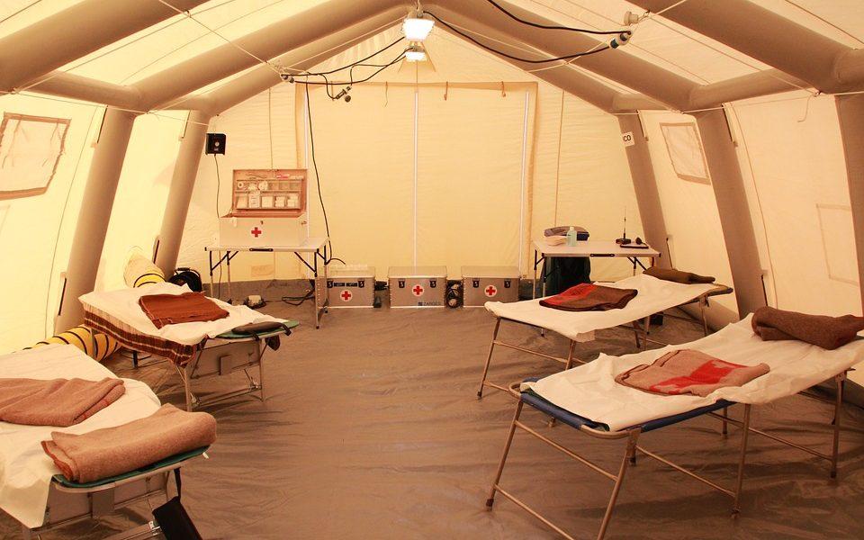 Servizio Civile per 20 volontari - Servizio Civile e tenda allestita