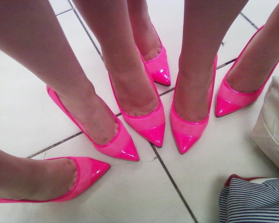 scarpe - Stiletto in primo piano