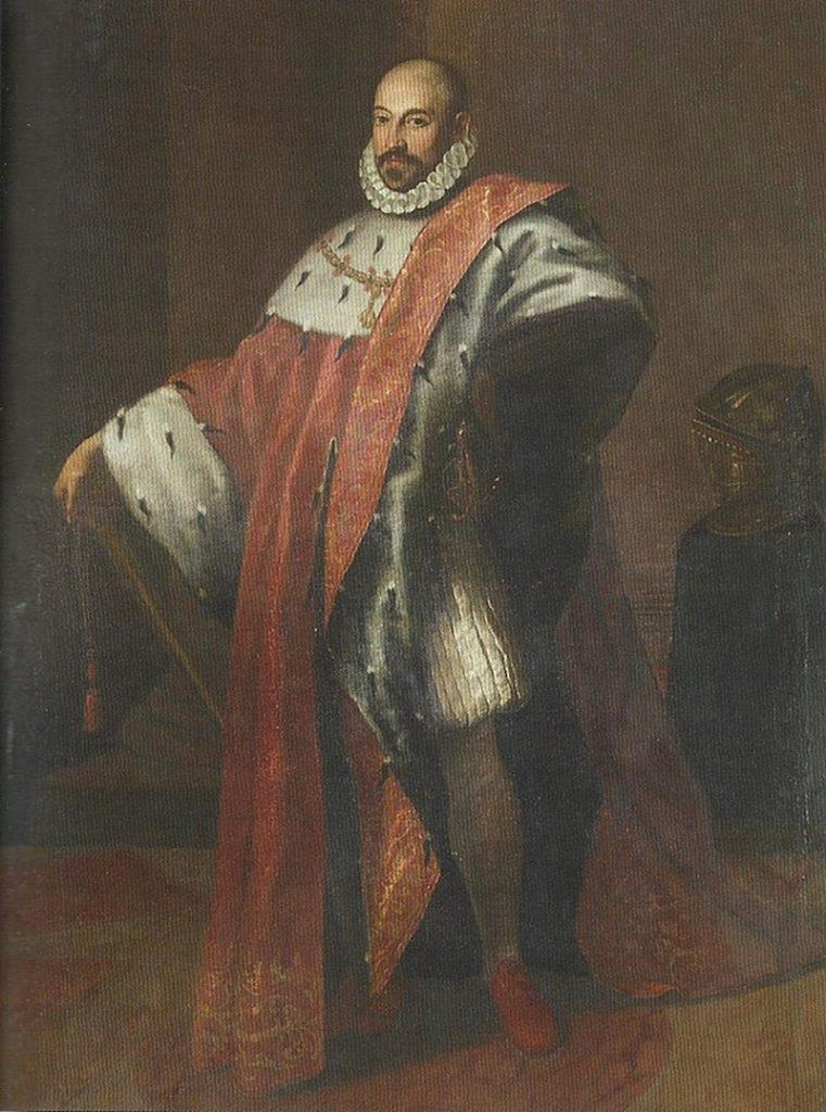 ritratto ufficiale - Marcantonio Colonna In Alta Uniforme che posa