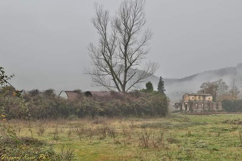 Fraschette - Campo Profughi in lontananza