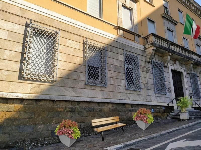 Frosinone in zona arancione - nuova sede del Comune