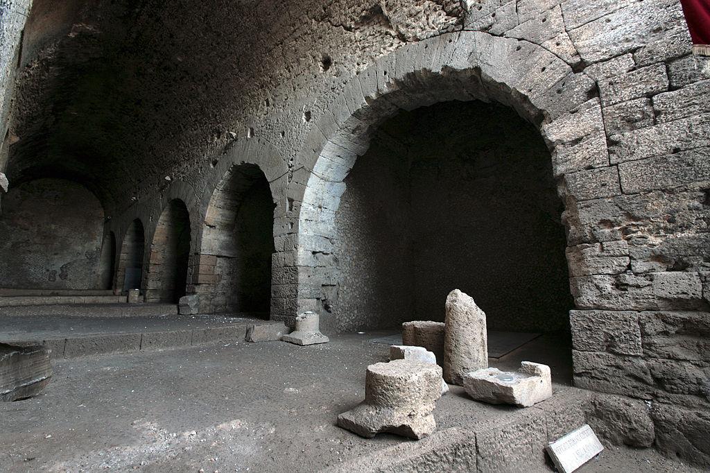 Aulo Quintilio Prisco - Mercato Romano a Ferentino
