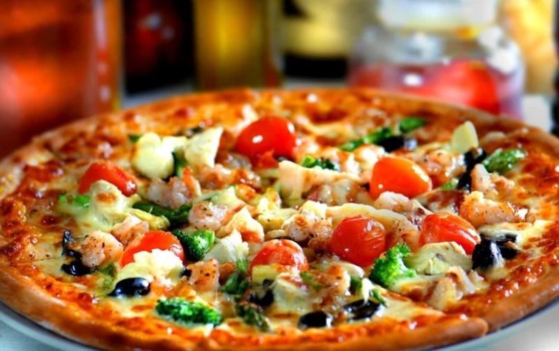 Social Eating - foto di pizza vegana