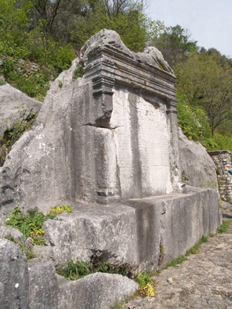 Aulo Quintilio Prisco - Testamento su pietra a Ferentino