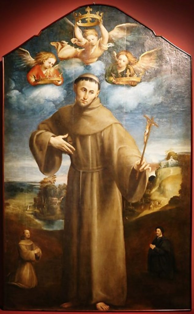 Il Fiume Fibreno - San Francesco Di Assisi in un dipinto