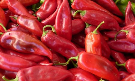 Il peperone cornetto - Peperoni Rossi Di Pontecorvo in foto