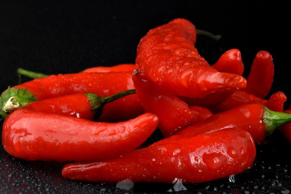 Il peperone cornetto  - Peperoni oblunghi a corno