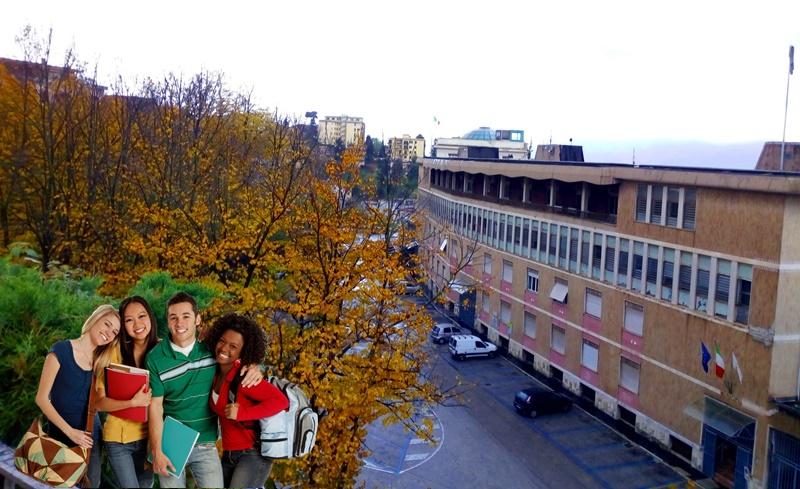 Università di Perugia a Frosinone -  vecchia sede del comune