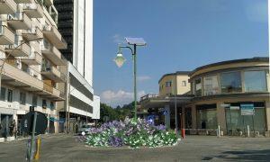 Rotatorie artistiche - Frosinone con esempio di Rotatoria