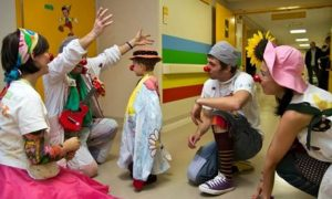 Clown terapia a Frosinone - Bambini E Nasi Rossi in corsia