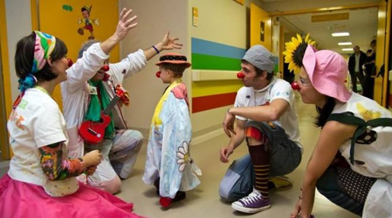 Clown terapia a Frosinone - Bambini E Nasi Rossi in corsia