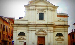 La chiesa di San Benedetto di Frosinone - la facciata esterna