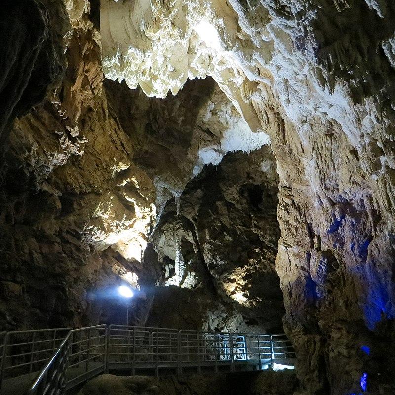 Grotte di Falvaterra - Dettaglio Delle Grotte dall'interno
