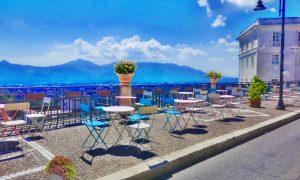 Spazi aperti per locali a Frosinone - Il Belvedere davanti al monumento Turriziani
