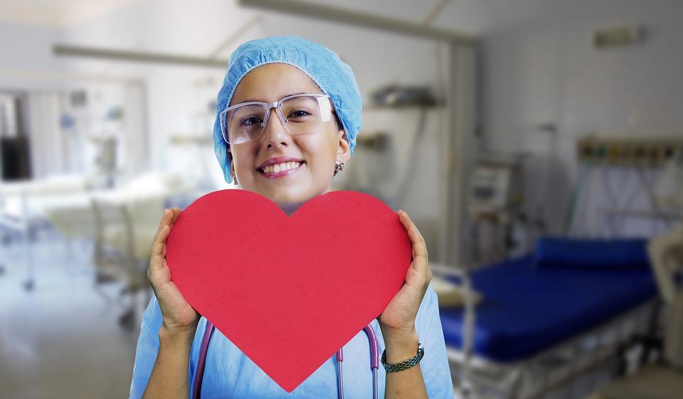 Raddoppio ospedale Spaziani  - Infermiera con un cuore