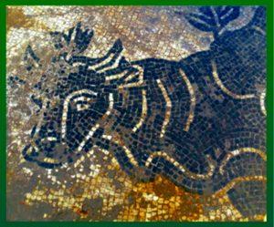 Terme romane a Frosinone - Mosaico Delle Terme di Frosinone
