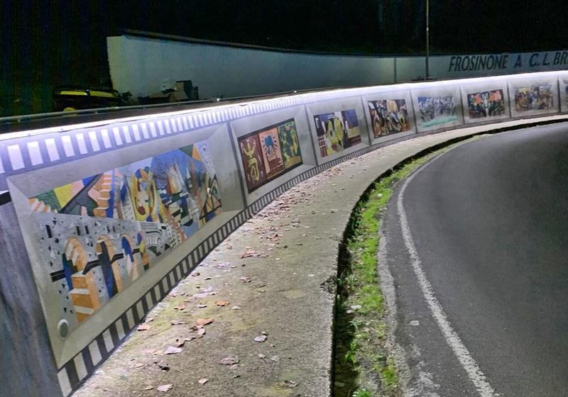Docufilm per il centro storico - Murale di Frosinone alta