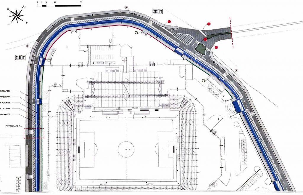Piano Sociale di Zona - Pista di Viale Olimpia da tracciare