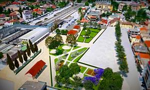 Zona scalo di Frosinone - Zona scalo di Frosinone - Stato Di Progetto da realizzare