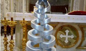 Il reliquiario dei patroni di Frosinone - Un Reliquiarioesposto
