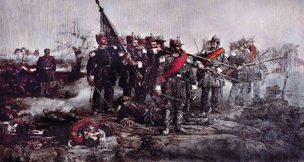 Domenico Ricciotti - Battaglia Di Novara in un dipinto