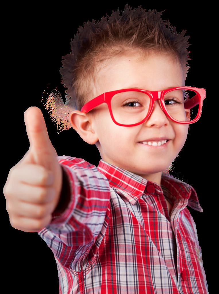 Nuove borse di studio a Frosinone - Bambino Con Occhiali rossi
