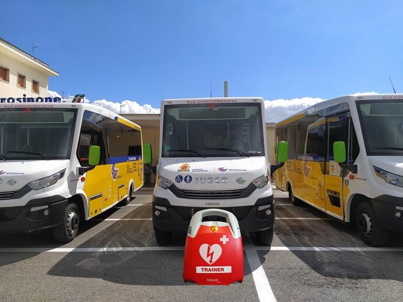Riqualificazione della stazione - Bus nuovi