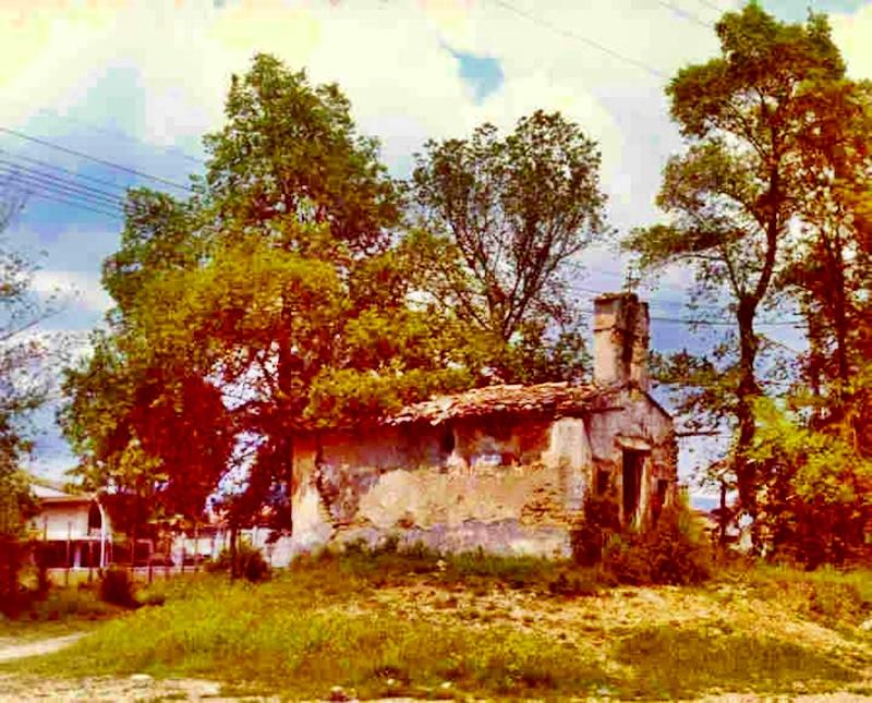 La madonna della quercia - Chiesa Diroccata prima del restauro