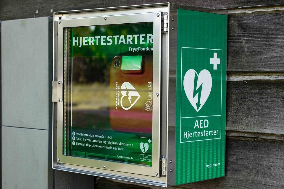 Riqualificazione della stazione - Defibrillatore da parete