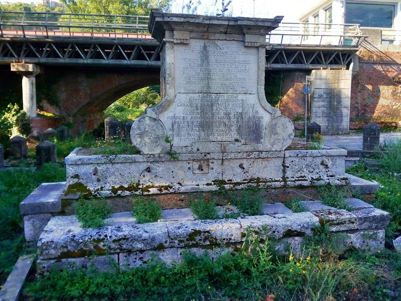 Restauro fontana Bussi - le erbacce sula fontana