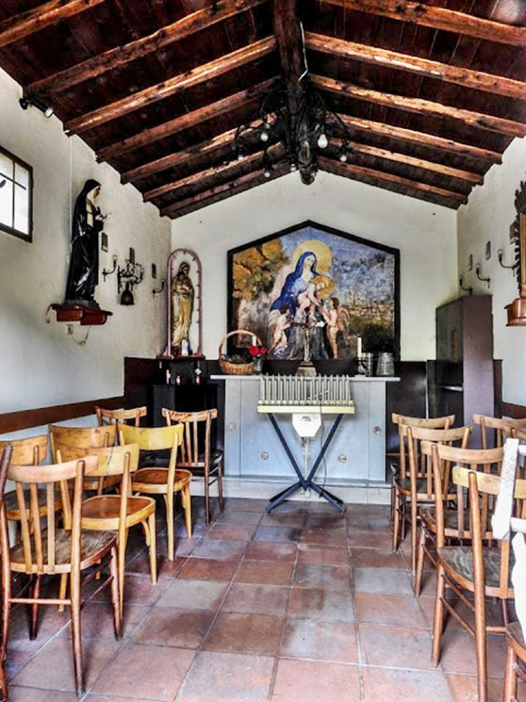 La madonna della quercia - Interni Della Chiesa frusinate