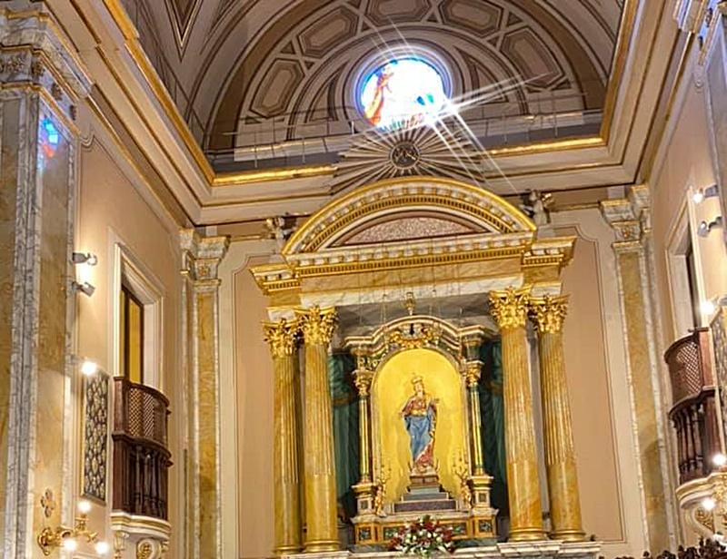 La Madonna del Suffragio - La Madonna del Suffragio - Interno Della Chiesa di Monte San Giovanni Campano