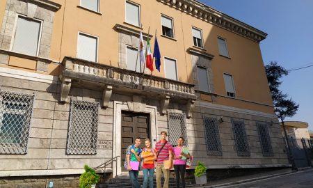 Pinacoteca a Frosinone e nuovo museo - Nuova Sede Comunale Palazzo Munari con studenti