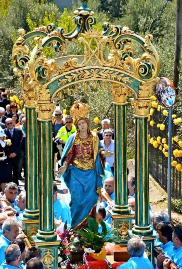La Madonna del Suffragio - Processione verso Colle San Marco