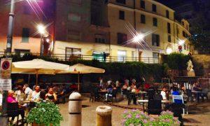 La terrazza del Belvedere - i giardinetti
