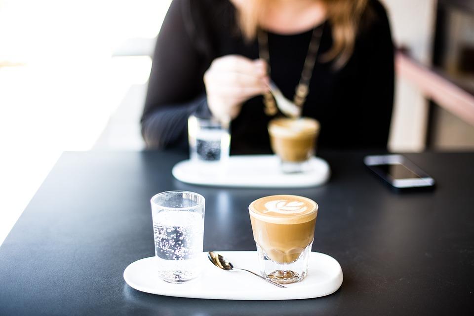 Le terrazze del Belvedere frusinati - Caffè al tavolo