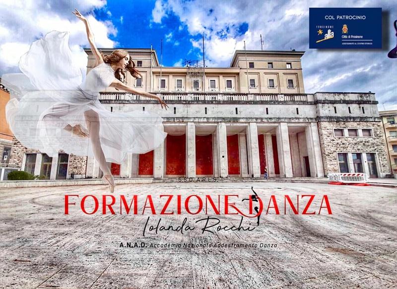 Le terrazze del Belvedere frusinati - Danza per l'inaugurazione