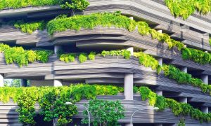Nuovo parcheggio allo scalo - Garage Parcheggio con balconata