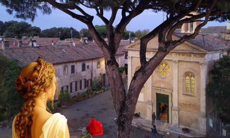 Dove fare una passeggiata - Matrona romana
